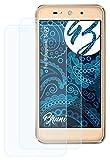 Bruni Schutzfolie kompatibel mit Blaupunkt SL02 Folie, glasklare Bildschirmschutzfolie (2X)