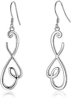 Amazonite earrings threader earrings silver sterling silver threader earrings tribal silver earrings rustic silver earrings