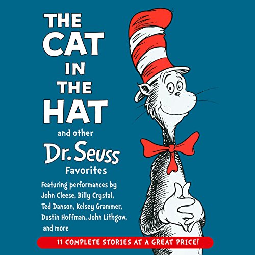 The Cat in the Hat and Other Dr. Seuss Favorites                   De :                                                                                                                                 Dr. Seuss                               Lu par :                                                                                                                                 Kelsey Grammer,                                                                                        John Cleese,                                                                                        John Lithgow,                   and others                 Durée : 2 h     2 notations     Global 5,0