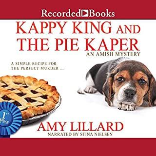 Kappy King and the Pie Kaper audiobook cover art