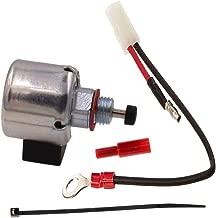 Triumilynn Carburetor Fuel Solenoid Kit for Kohler 12-757-33 S 12-757-09 1275733 CV11 CV12 CV12.5 CV13 CV14 CV15 CV16 CH11 CH12 CH13 CH14 CH16 Engine John Deere STX38 LX255 AM128242 AM128816