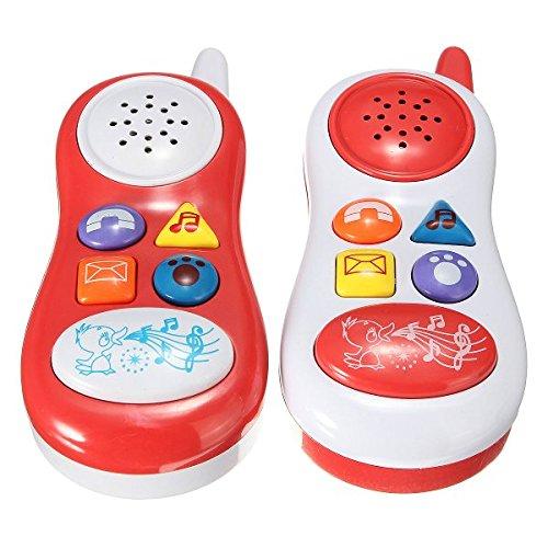 Bazaar Les enfants de jouets pour bébés de téléphones musicaux apprentissage mobile cadeau sonore