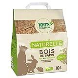 Perlinette Natural madera de árbol 100% de bajo consumo tipo para arena de gato–10L