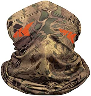 KastKing Sol Armis Neck Gaiter - UPF 50 Face Mask - UV Sun Protection Gaiter Sun Mask for Men & Women, Fishing, Hiking, Kayaking Mask, Prym1 Camo