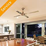 Ceiling Fan - Replacement - Under 10 ft.