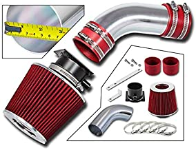Rtunes Racing Short Ram Air Intake Kit + Filter Combo RED For 96-00 Audi A4 / A6 2.8L V6