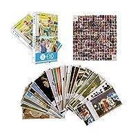 EXOカードセット EXOグリーティングポストカード30枚 EXOフォトカード30枚 EXOステッカー280枚 グリーティング用(340枚)