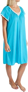 Shadowline Women's Cameo Nylon Tricot Short Sleeve Short Waltz Gown (36123)