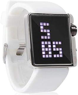 美しいTVG時計TVGLed電子シリコーン腕時計スポーツ光正方形腕時計KM - 4 G 08