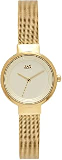 JAG Women's J2084A Year-Round Analog Quartz Yellow Gold Watch