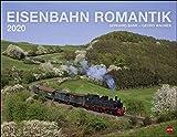 Eisenbahn Romantik. Wandkalender 2020. Monatskalendarium. Spiralbindung. Format 44 x 34 cm - Heye