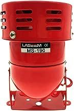 YXQ AC 110V Mini Siren Fire 114dB Alarm Buzzer MS-190 Industrial Electronic Wind Screw Motor High Decibel