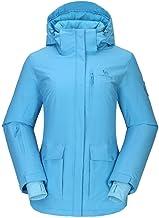 CAMEL CROWN dames ski-jas waterdicht wandeljack regenjassen outdoor functionele jas winddicht warme jas jas voor winterwan...