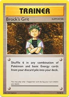 Pokemon - Brock39;s Grit (74/108) - XY Evolutions