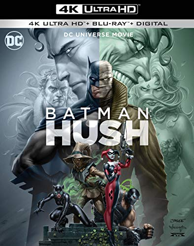 Batman: Hush [Includes Digital Copy] [4K Ultra HD Blu-ray/Blu-ray] $14.99 - $14.99