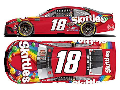 Lionel Racing KY Busch 1/64 HT Skittles 20 Camry, Multicolor
