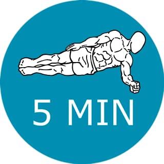 5 Minute Planks Workout Calishtenics
