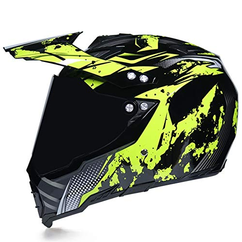 Motorrad Helm Anti Crash Downhill Offroad Racing Motorrad Sicherheitsschutzkappen...