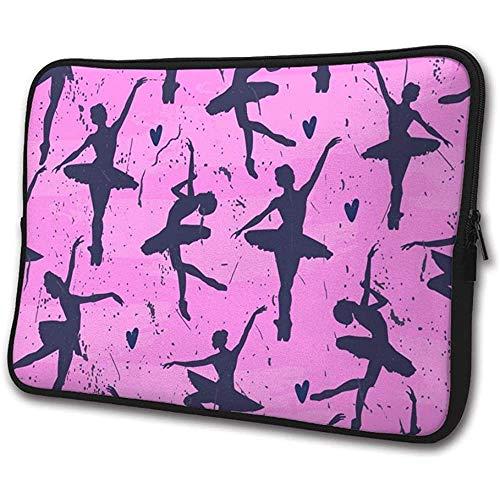 Laptop hoes hoes dansen ballerinas notebook computer cover tas compatibele tablet aktentas S(13 Inch) 1778