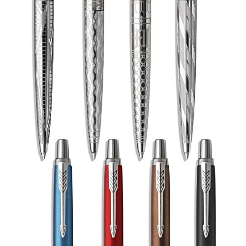 PARKER Jotter Special Edition Ballpoint Pen, Sky Blue Modern, Medium Point (0.7mm) Blue Ink, Gift Box (2025828)