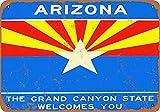 KODY HYDE Metall Poster - Welcome to Arizona - Vintage