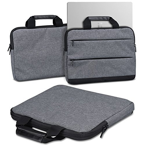 Schutzhülle für Trekstor Primebook C13 Laptop Tasche Sleeve Hülle Notebooktasche Hülle in Grau, Farbe:dunkel Grau