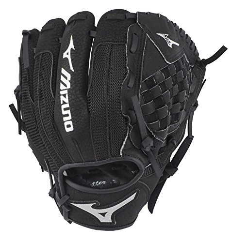 Mizuno GPP1000Y3 Youth Prospect Series PowerClose Baseball Gloves, 10', Right Hand Throw