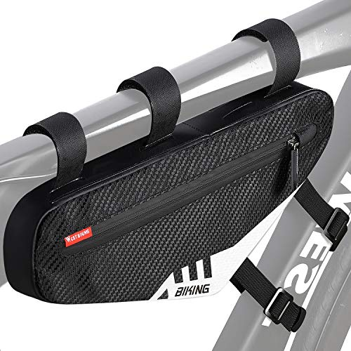 Waterproof Triangle Cycling Bicycle Bike Front Frame Pouch Saddle Bike Bags UK