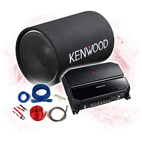 Kenwood Basspakket 2-kanaals eindversterker + 30 cm subwoofer+kabelset - 1200W / KSC-W1200T + KAC-PS702EX + REN10KIT