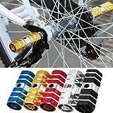2 piezas de estribos de bicicleta, clavijas de acrobacia hexagonales BMX, clavijas de acrobacia de pie de aleación Cilindro Pedal de eje de bicicleta de carretera de montaña Clavijas de aluminio