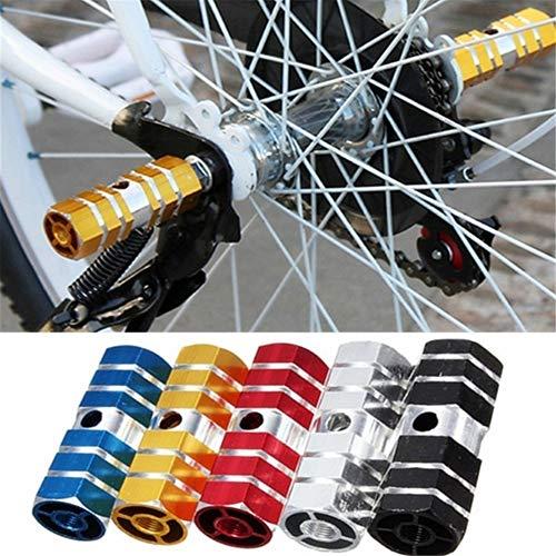 2 piezas de estribos de bicicleta, clavijas de acrobacia