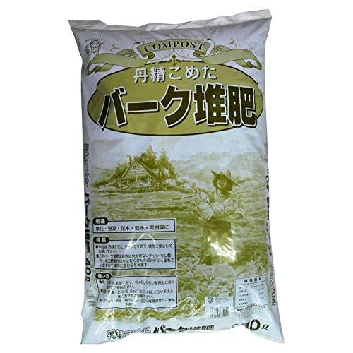 あかぎ園芸 バーク堆肥 40L 2袋 (4939091674042)【同梱・代引不可】