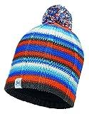 Buff Bambini Maglia e Polar Cappello, Bambino, Knitted And Polar, Lad Blue/Grey Vigore, Taglia Unica
