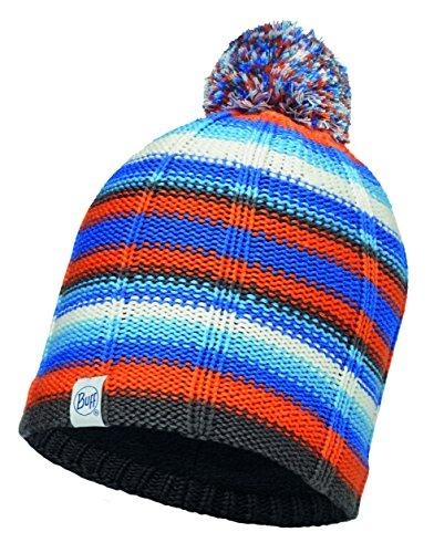 Buff Kinder Child Knitted und Polar Hat Mütze, Lad Blue, One size