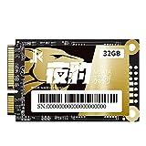 Unidad de estado sólido interna,Unidad de estado sólido SSD,mSATA SSD Mini SATA SATA SATA SATA III para PC portátil de 32 GB