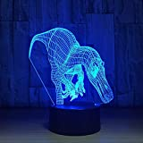 3D USB Dinosaurier Modellierung Tischlampe LED Nachtlichter Schlafzimmer Wohnkultur Geschenke Leuchte Interessantes Leuchtspielzeug