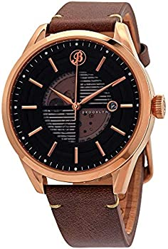 Brooklyn Automatic Black Dial Men's Watch