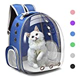 Henkelion Cat Backpack Carrier Bubble Carrying Bag, Small Dog Backpack Carrier...