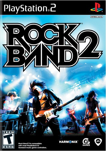 Rock Band 2 - PlayStation 2 (Game only) [video game]