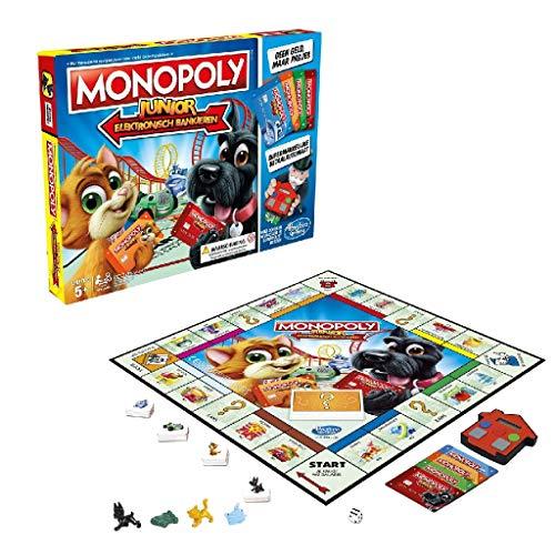 Hasbro Monopoly Junior Electronic Banking Niños Simulación económica - Juego de Tablero (Simulación económica, Niños, Niño/niña, 5 año(s), AAA, 1,5 V)