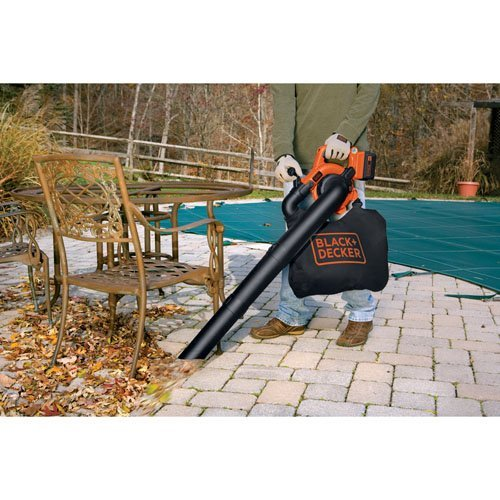 BLACK+DECKER LSWV36 40-Volt Lithium Cordless Sweeper and Vac (Renewed)