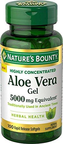 Nature's Bounty Aloe Vera Gel 5,000 mg, 100 Softgels Nature's Bounty