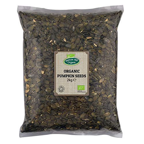 Organic Pumpkin Seeds 2kg by Hatton Hill Organic - Free UK Delivery