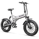 WFIZNB E Bike Elektro-Bike 500W elektrische fett Bike Strand Bike Cruiser Elektro Fahrrad 48v 12,8 ah Lithium-Batterie elektrische Mountainbike