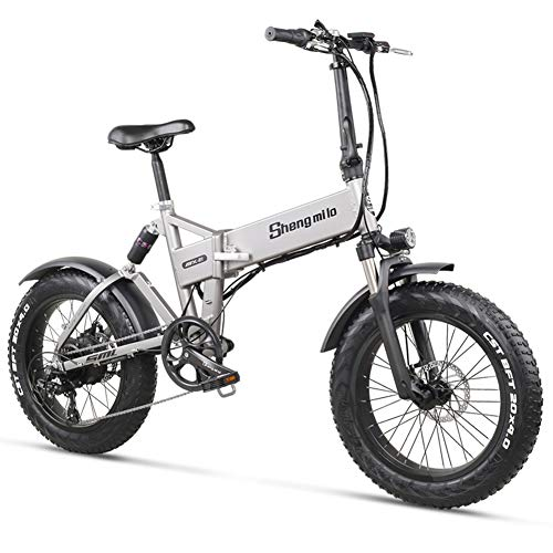 WFIZNB Ebike Bici eléctrica 48V500W montaña de la Bicicleta de Litio de...