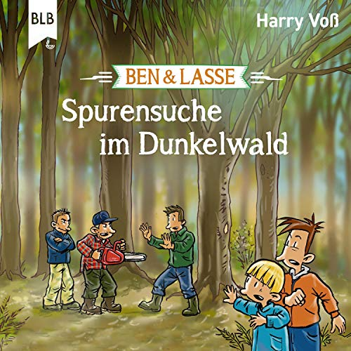 Spurensuche im Dunkelwald Titelbild