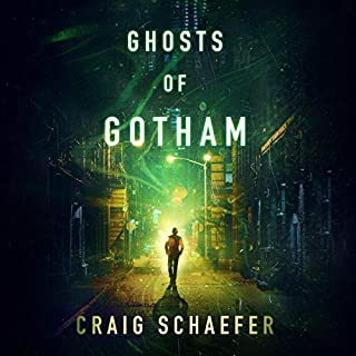 Ghosts of Gotham audiobook cover art