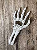 Skeleton Hand Handheld Beer Bottle Opener for Halloween Theme Party Decoration - Spooky Ghost White