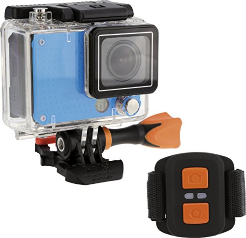 Rollei Actioncam 420 - 12 Megapixel WiFi Actioncam-Camcorder mit 4K/2K Videoauflösung sowie Full HD Videofunktion blau