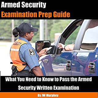 Armed Security Examination Prep Guide audiobook cover art